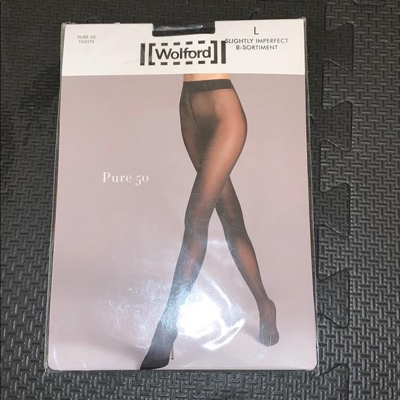 b6eb78c1147 Brand new Wolford pure 50 tights